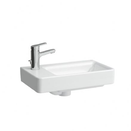 815955 - Laufen Pro S 480mm x 280mm Washbasin With Left Taphole - 8.1595.5